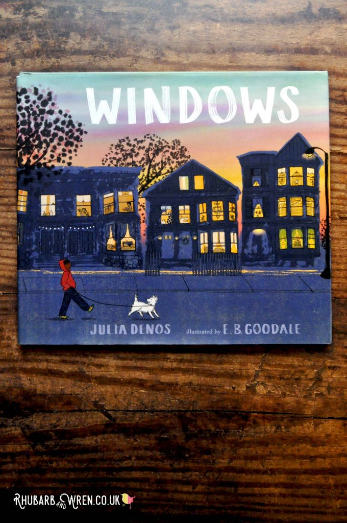 Children's picture book 'WINDOWS' by Julia Denos and EB Goodale