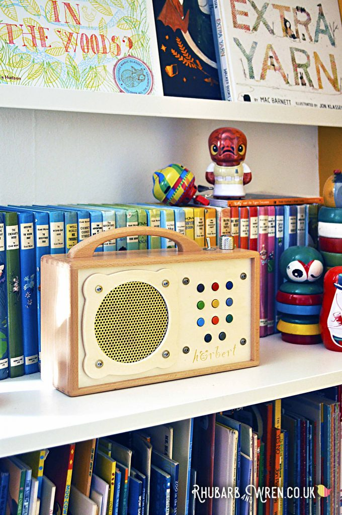 Horbert wooden MP3 player