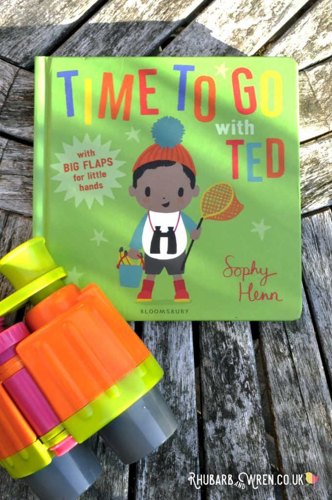 Time to Go With Tedd by Sophy Henn