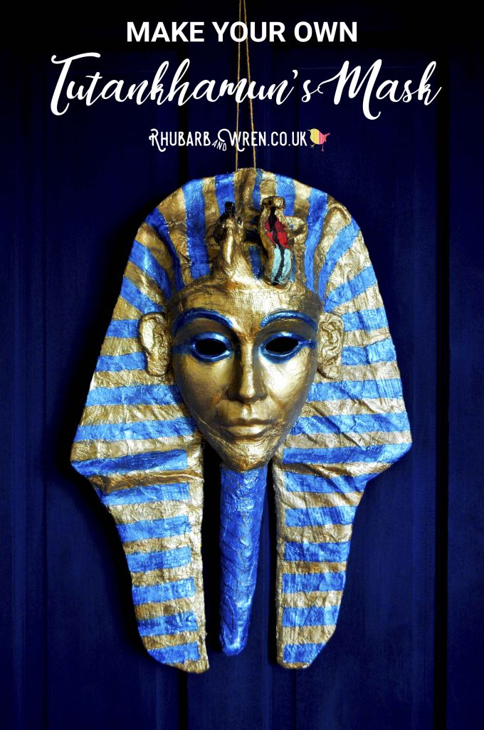 Make your own Tutankhamun mask