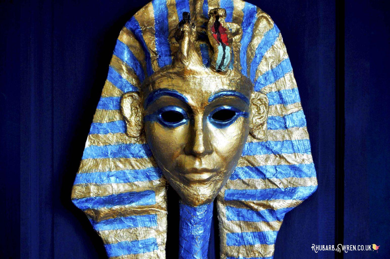 DIY Tutankhamun mask