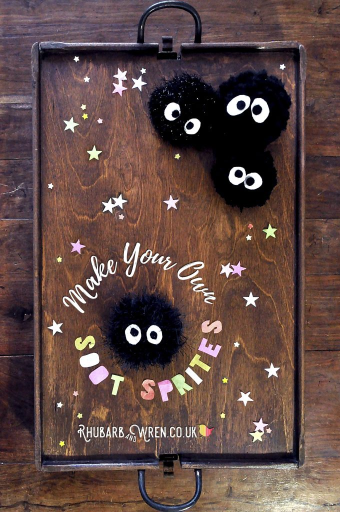 DIY soot sprites inspired by Studio Ghibli films