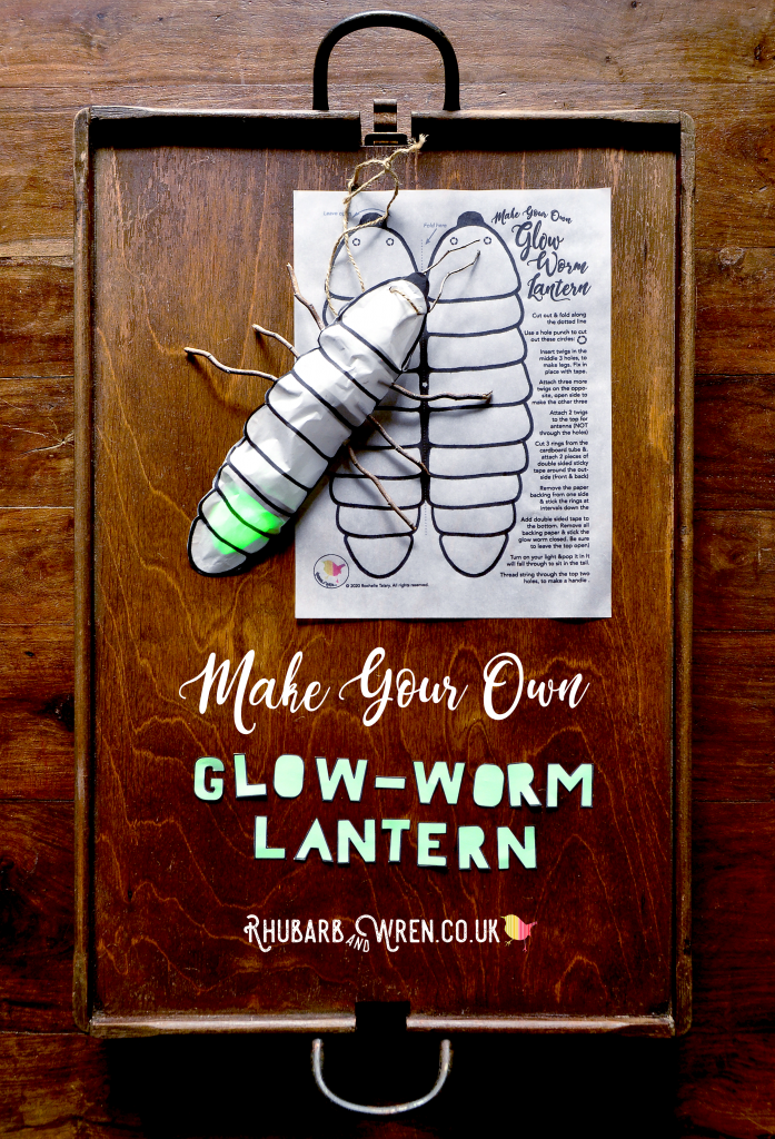 How to make a glow-worm lantern