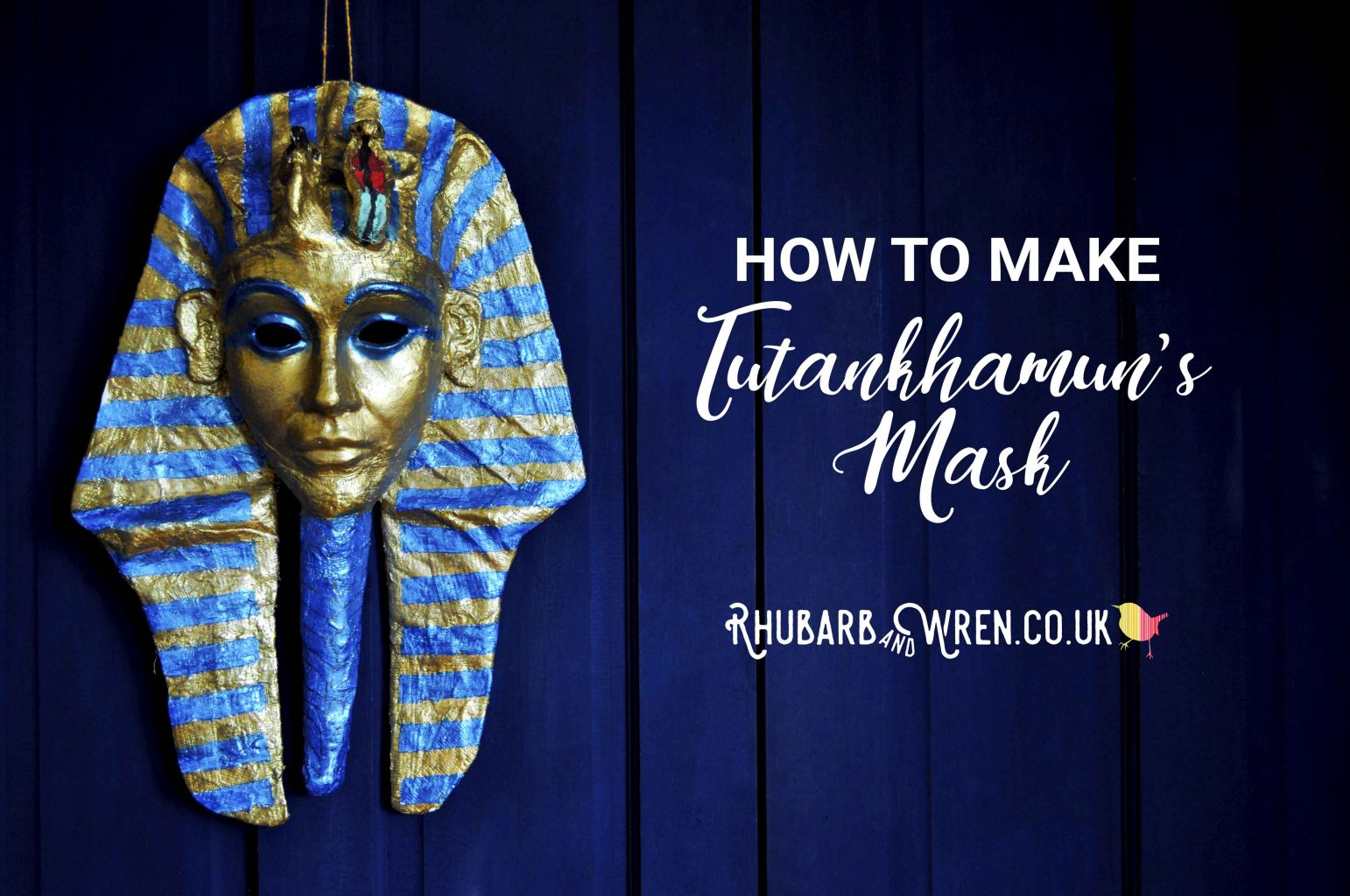 how to make King Tutankhamun's mask