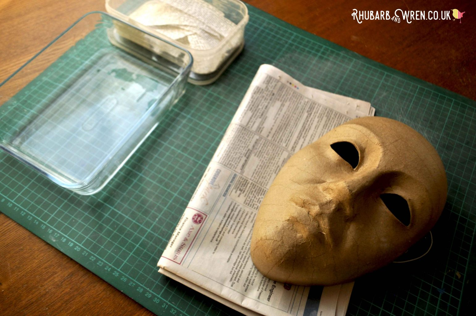 Making Tutankhamun's mask