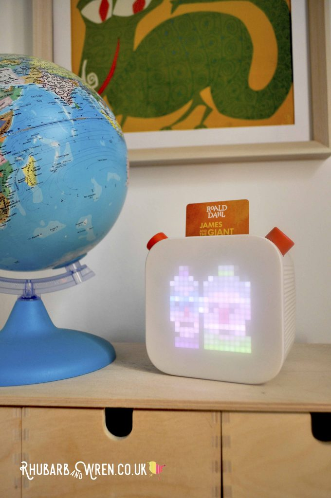 The Yoto Player is a fantastic kids audio device that lets even little ones control their own listening choices.