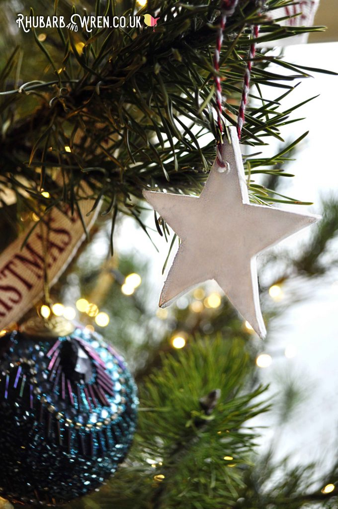 How to make your own clay star ornaments